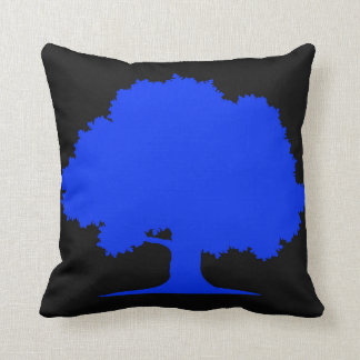 Blaue Eiche Kissen