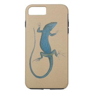 Blaue Eidechse, geko - Capri - Faraglioni iPhone 8 Plus/7 Plus Hülle