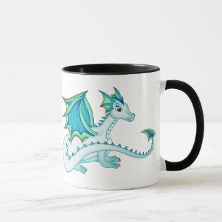 Blaue Eis-Drache-Tasse Tasse