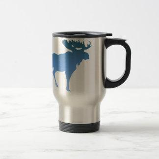 Blaue Elche Teetasse