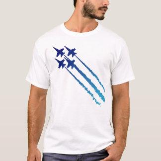Blaue Engels-Diamant-T - Shirt