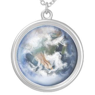 Blaue Erde - Halskette
