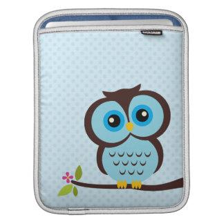 Blaue Eule Sleeve Für iPads