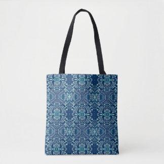 Blaue Explosion Tasche