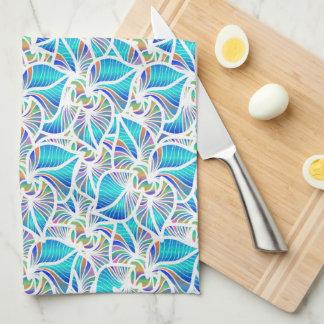 Blaue Fantasien Handtuch