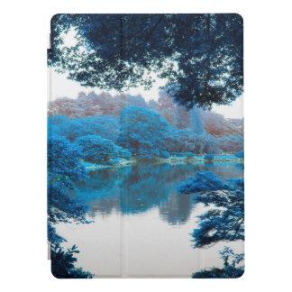 Blaue Farbe bewirkte coole, einzigartige Natur, iPad Pro Hülle