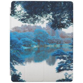 Blaue Farbe bewirkte coole, einzigartige Natur, iPad Smart Cover