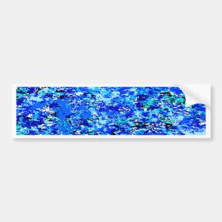 Blaue Flammen-Hintergrund Autoaufkleber