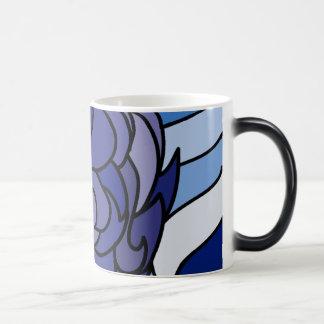 Blaue Flammen-magische Tasse