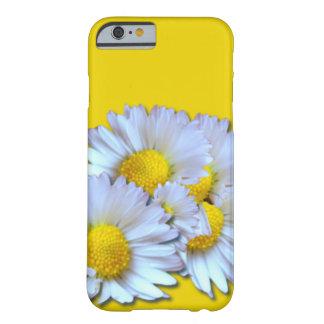 Blaue Gänseblümchen Barely There iPhone 6 Hülle