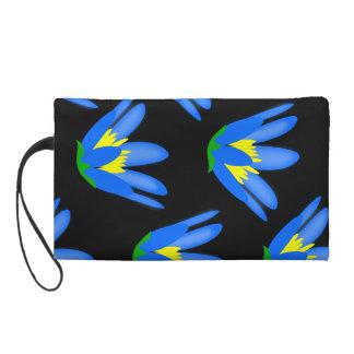 Blaue gelbe Blume