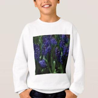 blaue Glocken-Blume nett Sweatshirt