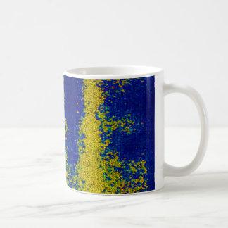 Blaue GoldTasse Kaffeehaferl