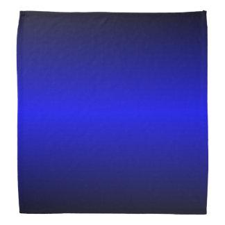 Blaue Graedient™ Bandanna Kopftücher