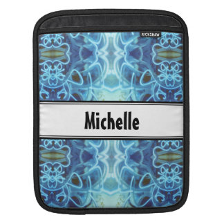 Blaue Graffiti Sleeve Für iPads