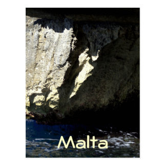 Blaue Grotte, Malta Postkarte