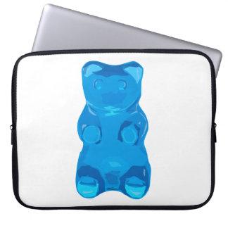 Blaue Gummybear Illustration Laptopschutzhülle