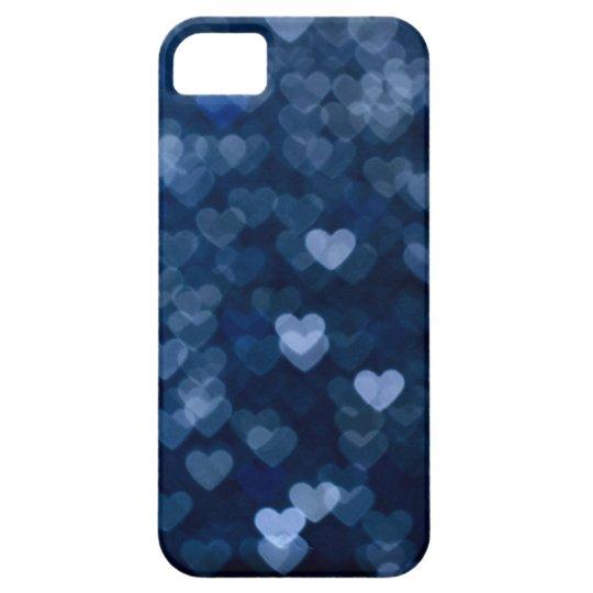 blaue Herzen iPhone 5 Case