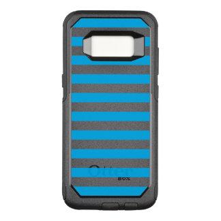 Blaue horizontale Streifen OtterBox Commuter Samsung Galaxy S8 Hülle