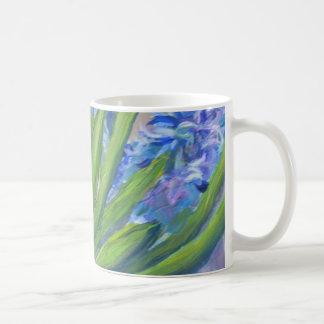 Blaue Hyazinthen Kaffeetasse