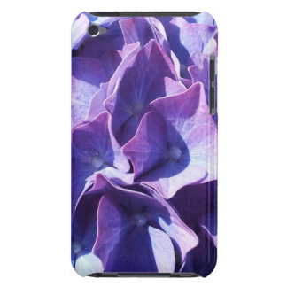 Blaue Hydrangea-Blumen-nahes hohes Foto Case-Mate iPod Touch Case