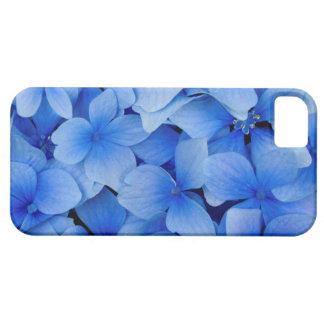 Blaue Hydrangea-Blumen Schutzhülle Fürs iPhone 5