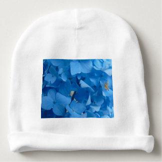 Blaue Hydrangeas Babymütze