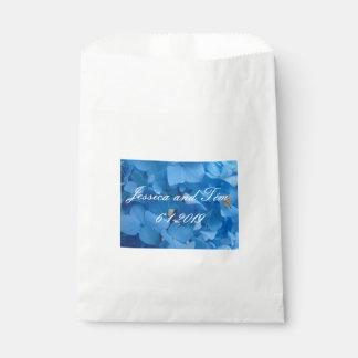 Blaue Hydrangeas Geschenktütchen