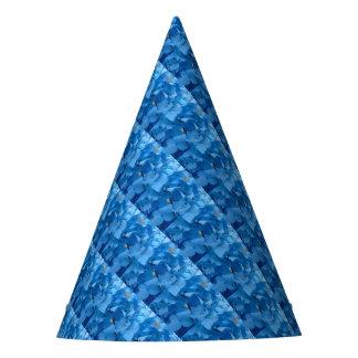 Blaue Hydrangeas Partyhütchen