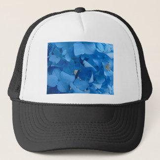 Blaue Hydrangeas Truckerkappe