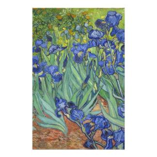 Blaue Iris Briefpapier