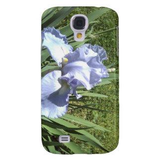 blaue Iris Galaxy S4 Hülle