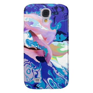 Blaue Iris-Sammlung Galaxy S4 Hülle