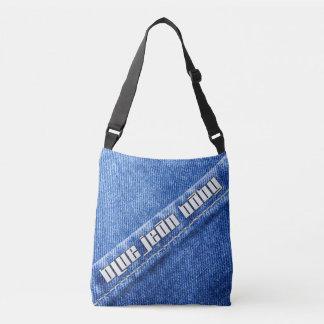Blaue Jean-Baby-Taschen-Tasche Tragetaschen Mit Langen Trägern
