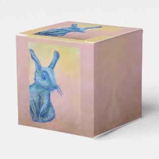 blaue Kaninchen-Geschenkboxen Geschenkschachtel