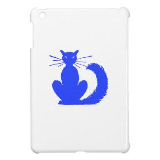 Blaue Katze iPad Mini Schale