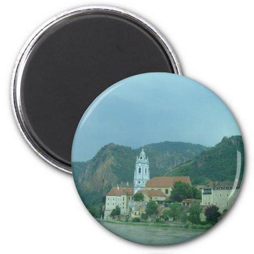Blaue Kirche in Dürnstein Magnets