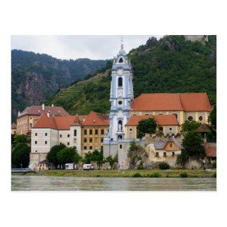 Blaue Kirche in Dürnstein Postkarten