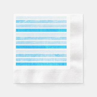 Blaue Knistern-Papier- mit Papierserviette