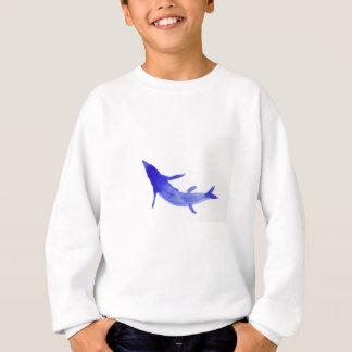 Blaue Koi Fische Sweatshirt