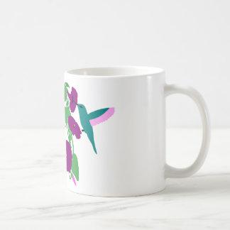 Blaue Kolibris u. Winden-Rebe Kaffeetasse