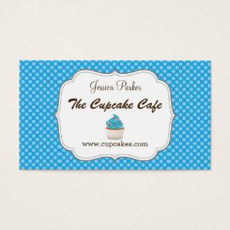 Blaue Kuchen-Visitenkarte Visitenkarte