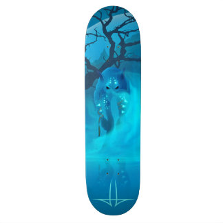 Blaue Lagune 18,1 Cm Old School Skateboard Deck