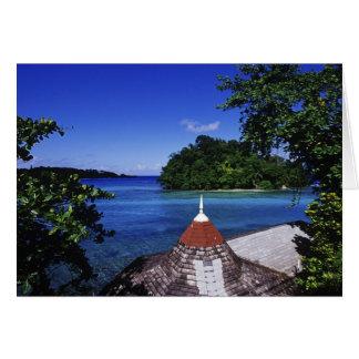 Blaue Lagune, Hafen Antonio, Jamaika Karte