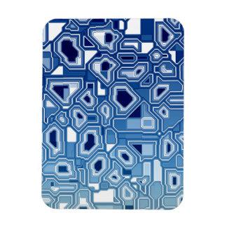Blaue Leiterplatte Magnet