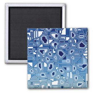 Blaue Leiterplatte Quadratischer Magnet