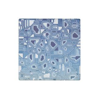Blaue Leiterplatte Steinmagnet