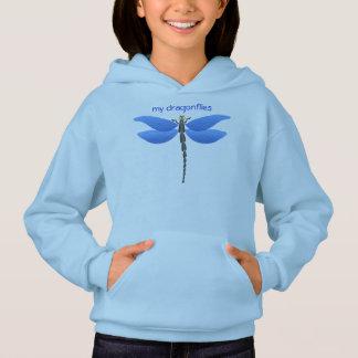 Blaue Libelle Hoodie