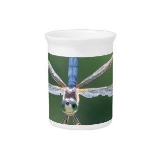 Blaue Libelle Krug