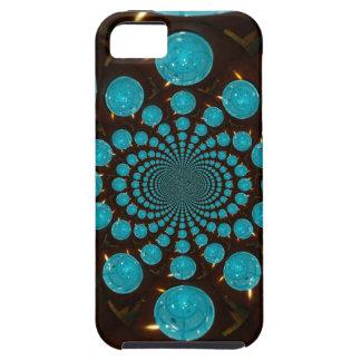 Blaue Lichter iPhone 5 Schutzhülle